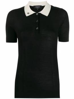 Rochas - knitted polo top 356363RPY0965A955056