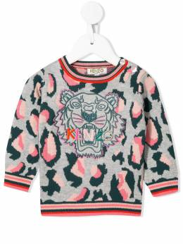 Kenzo Kids - embroidered Tiger jumper 8658BB05955933880000