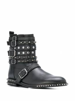 Twin-Set - buckle detail boots 69Q95565699000000000