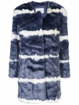 Charlotte Simone - denim faux-fur jacket 99J96959096650000000