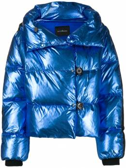 John Richmond - metallic-effect puffer jacket 99066PI9550566300000
