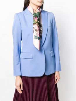 Salvatore Ferragamo - шарф с цветочным принтом и декором Gancini 33595956335000000000