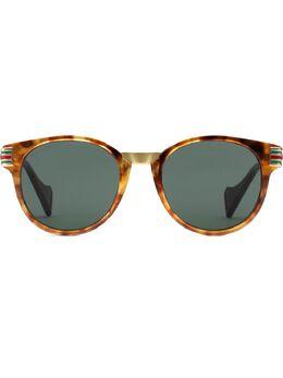 Gucci Eyewear - солнцезащитные очки в круглой оправе 665J6336955636880000