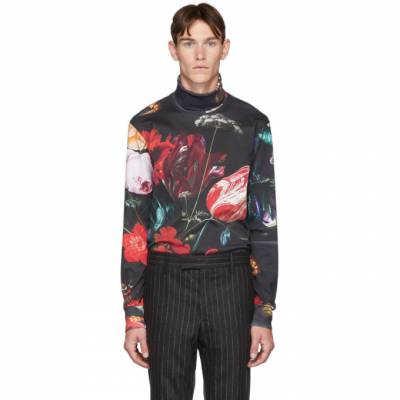 Paul Smith Multicolor Floral New Masters Turtleneck 192260M20500401GB - 1