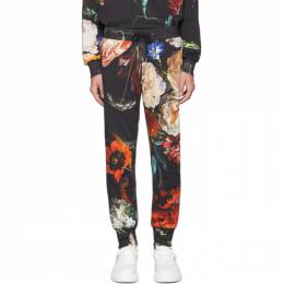 Paul Smith SSENSE Exclusive Multicolor Floral New Masters Print Lounge Pants 192260M19000606GB