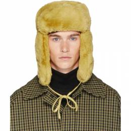 Paul Smith Yellow Matthew Traper Hat 192260M14000201GB