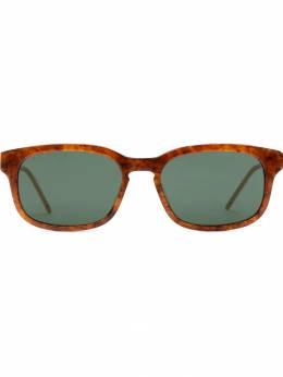 Gucci Eyewear - солнцезащитные очки в прямоугольной оправе 636J6356955636830000