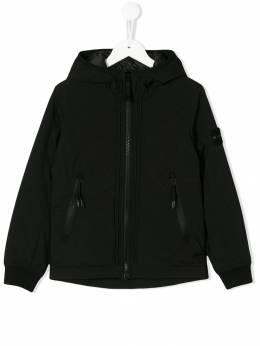 Stone Island Junior - куртка на молнии с капюшоном 656339K9550839600000