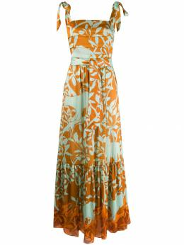 Johanna Ortiz - платье макси с принтом 08SP9508959300000000