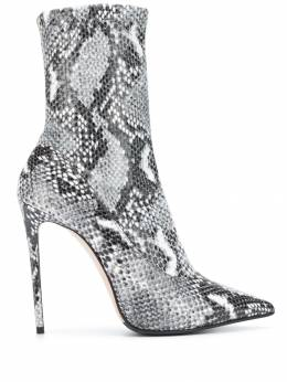 Le Silla - snakeskin effect sock boots 9M966R9PPTAI95538036