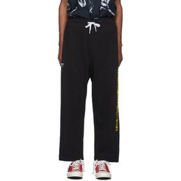 Double Rainbouu Black Party Strip Ez Lounge Pants 192062M19000104GB