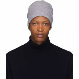 Mackage Grey Wool and Cashmere Tazio-R Beanie TAZIO-R
