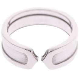 Cartier C de Cartier White Gold Ring Size 51 227533