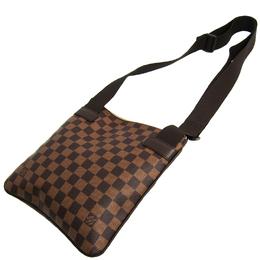 Louis Vuitton Damier Ebene Melville Shoulder Bag 228621