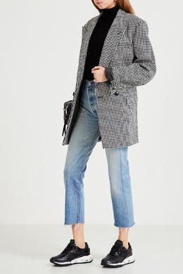 Кроссовки с лакированными вставками Scarlett Premiata 827154975