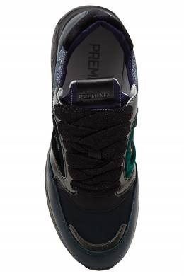 Зеленые кроссовки с люрексом Zac-ZacD Premiata 827154972
