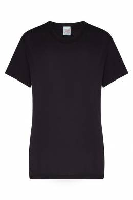 Черная хлопковая футболка Re/Done 1781155104