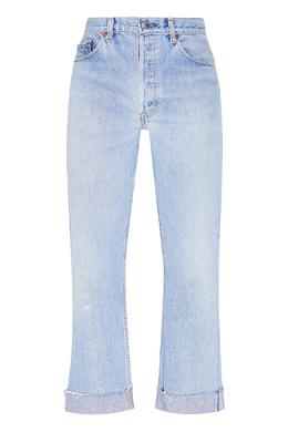 Голубые джинсы кроя слим Re/Done 1781155110