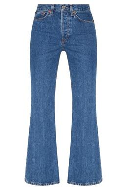 Расклешенные джинсы синего цвета Re/Done 1781155113