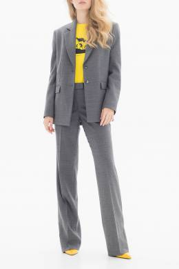 Серый костюм из мягкой ткани Belka 2715155057
