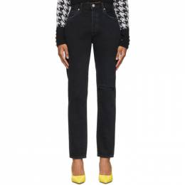 Citizens Of Humanity Black Liya High-Rise Classic-Fit Jeans 1577B-1136
