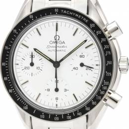 Omega White Stainless Steel Speedmaster Automatic 3510.20 Men's Wristwatch 39 MM 226388