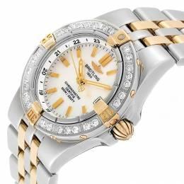Breitling 18K Yellow Gold MOP Stainless Steel Starliner B71340 Women's Wristwatch 30MM 227106