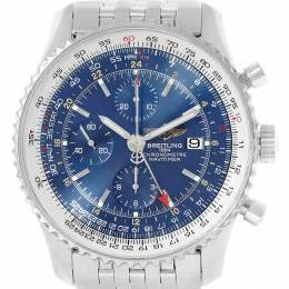 Breitling Blue Stainless Steel Navitimer A24322 Men's Wristwatch 46MM 227100