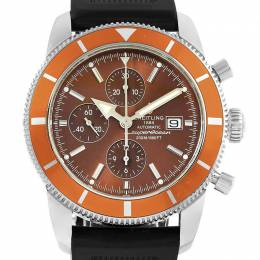 Breitling Bronze Stainess Steel and Rubber SuperOcean Heritage A13320 Men's Wristwatch 46MM 227125