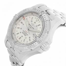 Breitling Silver Stainless Steel Colt A17380 Men's Wristwatch 41MM 227173