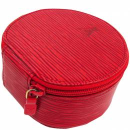 Louis Vuitton Red Epi Leather Ecrin Bijoux 10 Jewelry Case 228668