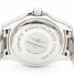 Breitling Black Stainless Steel SuperOcean 2 A17365 Men's Wristwatch 42MM 229614