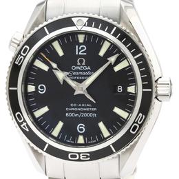 Omega Black Stainless Steel Seamaster Planet Ocean 2201.50 Men's Wriswatch 42 MM 229687