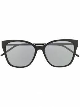 Saint Laurent Eyewear солнцезащитные очки в квадратной оправе SLM48SK