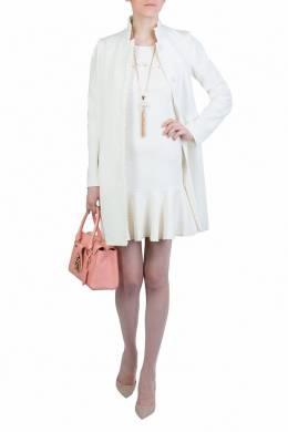 Белое платье с воланом Patrizia Pepe 1748155714