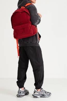 Бордовый рюкзак с металлическими кольцами Eastpak x Raf Simons 2760154651