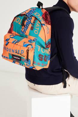 Цветной рюкзак с рисунками и надписями Eastpak 2760154281
