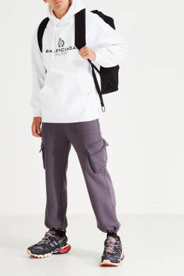 Черный текстильный рюкзак с карманом Eastpak x Raf Simons 2760154248