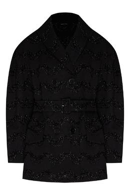 Расшитый жакет черного цвета Simone Rocha 250155139