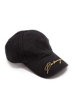 Черная бейсболка с логотипом Balenciaga 397154762