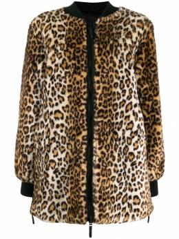 Ermanno Ermanno Scervino пальто с леопардовым принтом 45TCP44ECP