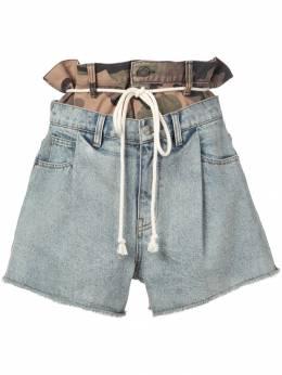 Haculla джинсовые шорты Double Hac HAW08AIBS03