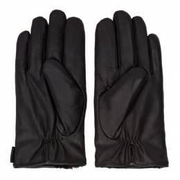 Tiger Of Sweden Black Geron Gloves 192115M13500202GB