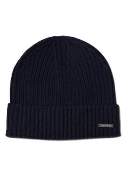 Черная шапка из хлопкового трикотажа Calvin Klein 596155827