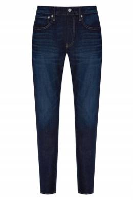 Темно-синие зауженные джинсы Calvin Klein 596155860