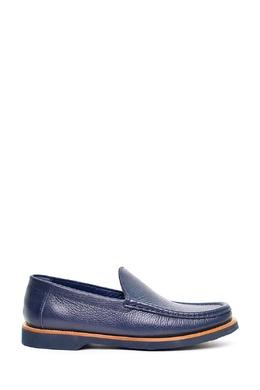 Синие кожаные мокасины Pellettieri Di Parma 2996155500