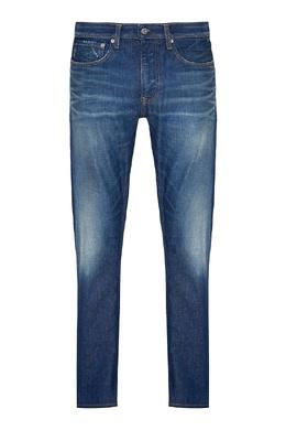 Синие джинсы с потертостями Calvin Klein 596155894