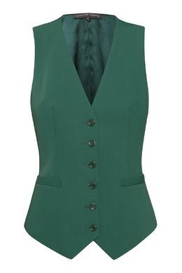 Зеленый жилет приталенного кроя Alexander Terekhov 74155733
