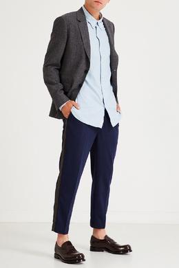 Темно-синие брюки с поясом на кулиске Calvin Klein 596155872