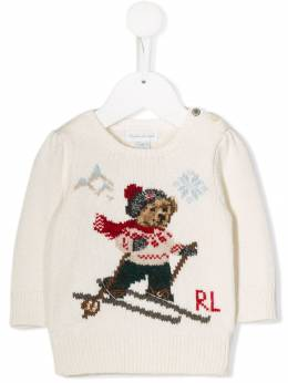 Ralph Lauren Kids Polo Bear jumper 310763092001